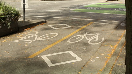 Vancouver Urban Bicycle Crossing