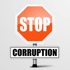 Roadsign Stop Corruption