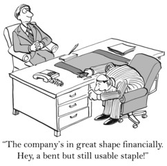 """The company's in great shape financially... usable staple."""
