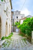 Fototapety The stone lane