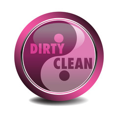 Dirty and clean symbol