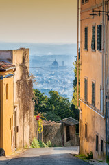 panoramic view of Florence from Fiesole