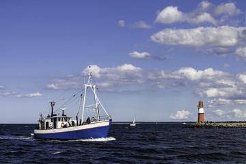 Fischkutter auf der Ostsee