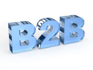 B2B (Business to business) sign