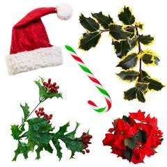 Weihnachten Set Freisteller