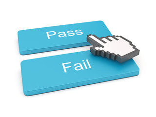 Pass And Fail Button
