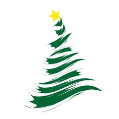 Weihnachtsbaum Stern Abstrakt Vektor