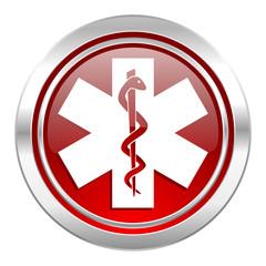 emergency icon, hospital sign