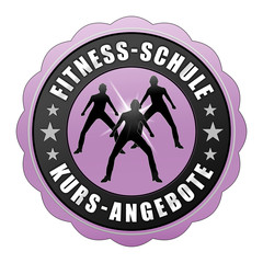 fsk4 FitnessSchuleKurs - fnb - Fitnessschule Kurs violett g2435