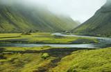 Eldgja canyon, Iceland