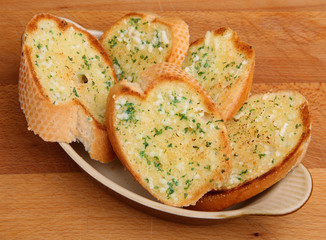 Garlic Bread Slices