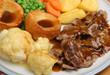 canvas print picture - Sunday Roast Dinner