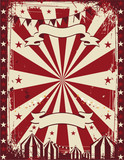 Vintage circus poster background advertising