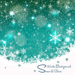 Weihnachtskarte-Hintergrund III
