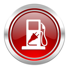 fuel icon, hybrid fuel sign
