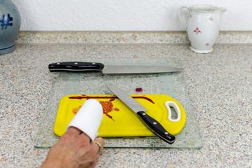 Gefahren in der Küche
