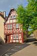 Historisches Fachwerkhaus in Traben-Trarbach, Mosel Deutschland