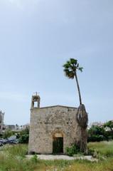 verlassene Kirche in Akko, Israel
