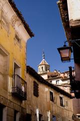 Streets of Albarracín, Teruel, Spain.