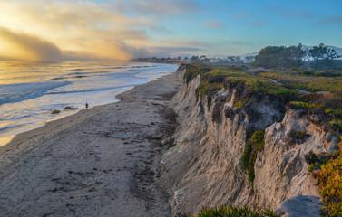 Pacific coast near Santa Barbara, California
