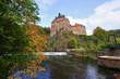 canvas print picture - Burg Kriebstein