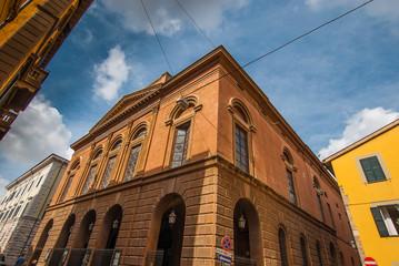 Paesaggio urbano, Teatro Verdi, centro storico Pisa