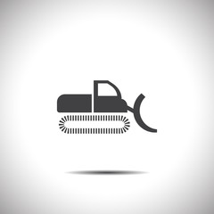 dredge vector icon