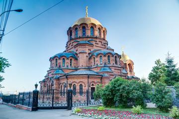 Church in Novosibirsk, Russia