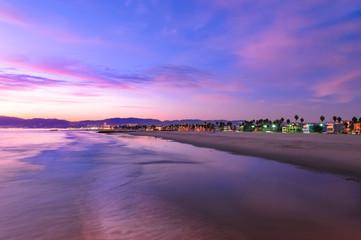 Spectacular Sunset at Venice Beach California