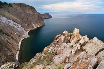 Cliffs, Lake Baikal