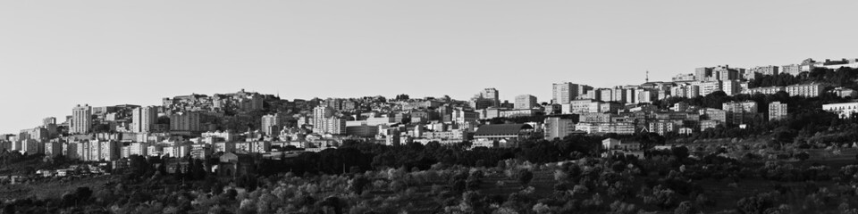 Italy, Sicily, Agrigento, panoramic view of the town