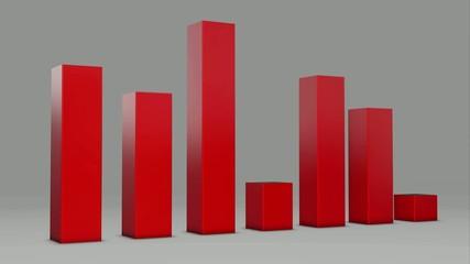 Red Bar Statistic 3D Loop