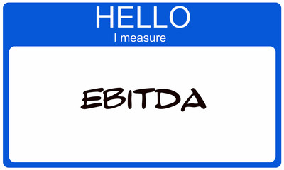 Hello I measure EBITDA