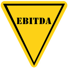 EBITDA Triangle Sign