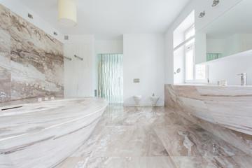 Granitic bathroom