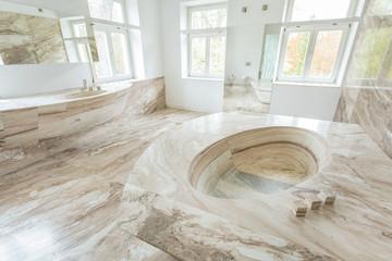 Ancient bathtub