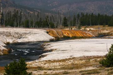 Iron Spring Creek, Yellowstone National Park, Wyoming, USA