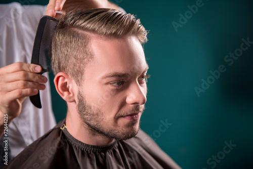 mata magnetyczna Profesjonalny salon fryzjerski