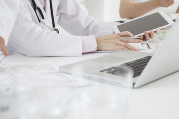 Doctors to work with the tablet