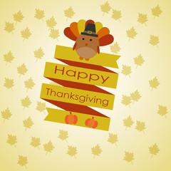 Happy Thanksgiving ribbon