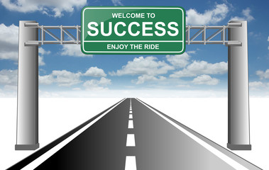 welcome to success enjoy the ride road 2