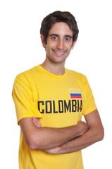 Sympathischer junger Mann aus Kolumbien