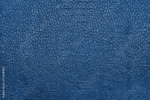 texture old leather with a stamping of blue color