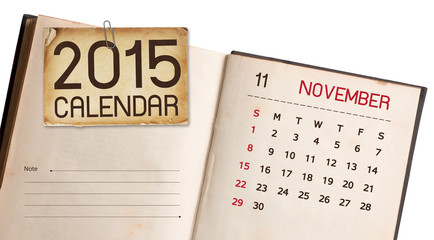 Calendar 2015 November