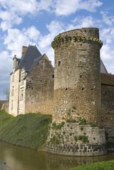 Chateau médieval de Marconnay, 86, vienne