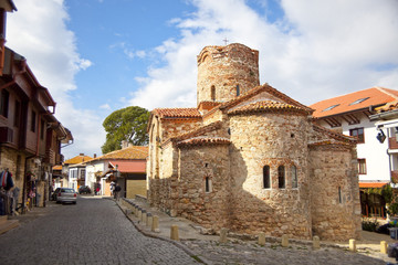 Orthodox church in Nessebar old town in Bulgaria
