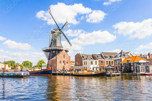 Leinwanddruck Bild Haarlem, Netherlands