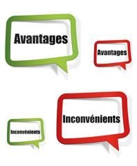 avantages - inconvénients