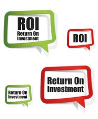 ROI - Return on investment