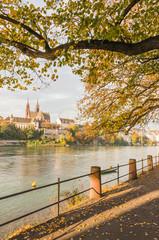 Basel, Stadt, Rhein, Rheinweg, Kleinbasel, Altstadt, Schweiz